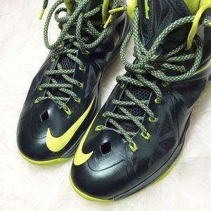 Nike Lebron X (10) Atomic Dunkman Basketball Shoes